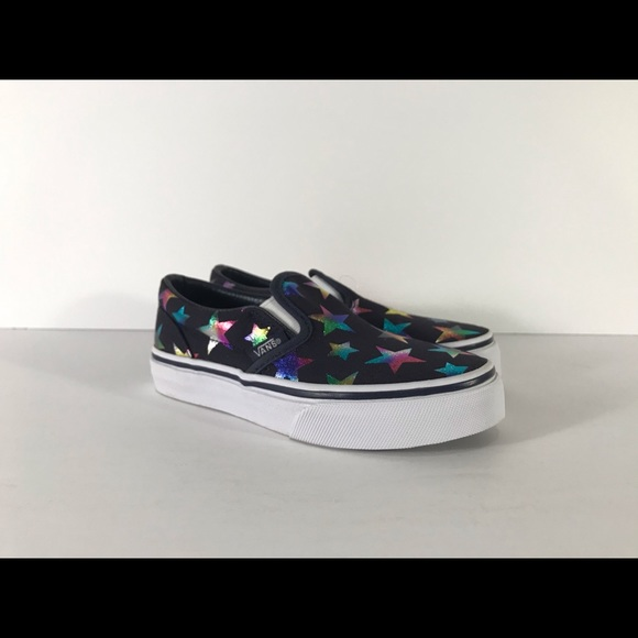 Vans Other - Vans Classic Slip-On Foil Stars Sneakers